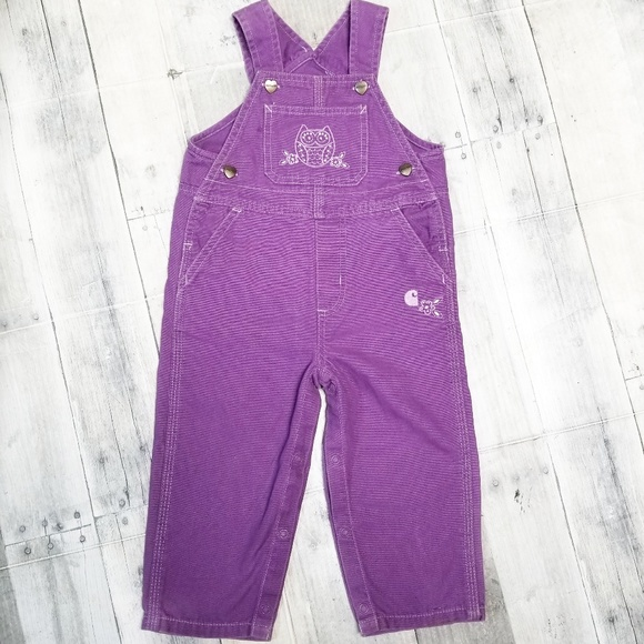 Carhartt One Pieces Cute Purple Overalls Poshmark